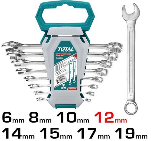 Набор ключей комбинированных 8 шт