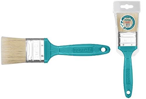 Кисть плоская пластиковая ручка 50мм.